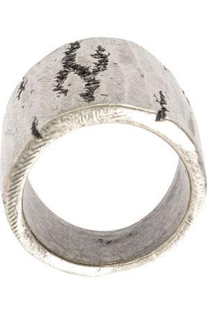 TOBIAS WISTISEN Cracked ring - Metallic