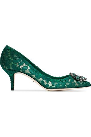 Dolce & Gabbana Bellucci 60mm Taormina lace pumps