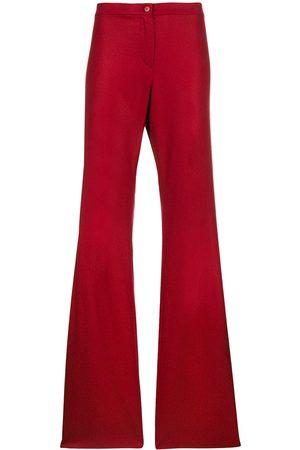 ROMEO GIGLI Flared tailored trousers