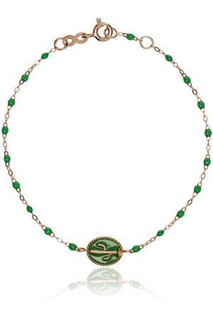 GIGI CLOZEAU 18kt rose gold cactus bead bracelet