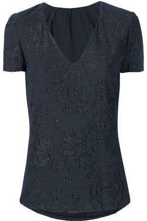 Giorgio Armani Floral lace blouse