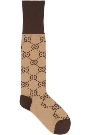 Gucci Interlocking G socks - Neutrals