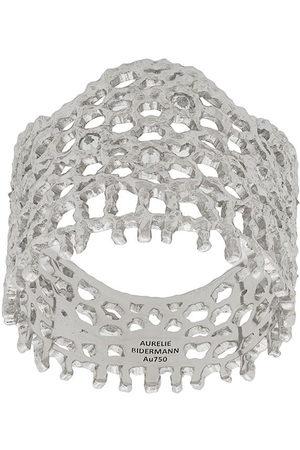Aurélie Bidermann 18kt white gold Vintage Lace diamond ring - Metallic