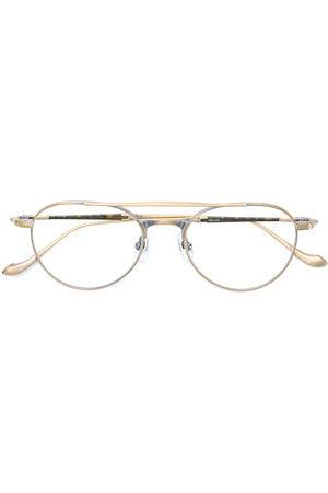MATSUDA Aviator shaped glasses - Metallic