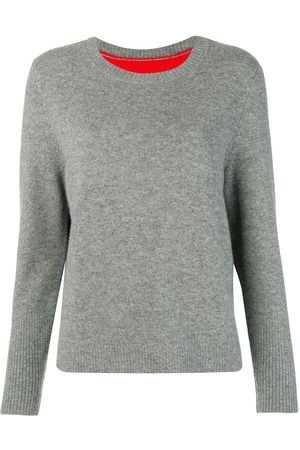 Chinti And Parker Women Jumpers - Contrast back panel sweater