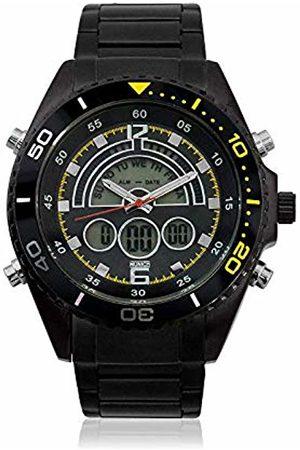 Munich Unisex Adult Digital Quartz Watch with Rubber Strap MU+124.1C
