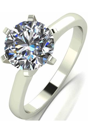 Moissanite 18 Carat 2 Carat Ring