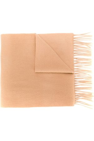 N.PEAL Woven cashmere scarf - Neutrals