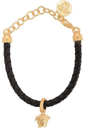 VERSACE Braided Medusa charm bracelet - Metallic