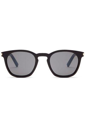 Saint Laurent Round Acetate Sunglasses - Mens