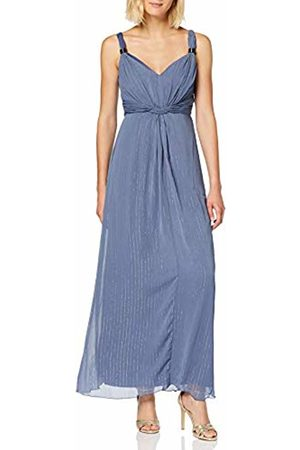 Little Mistress Anaïs Lavender Ring Detail Maxi Dress 12 UK Lavender