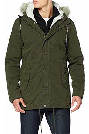 Tommy Hilfiger Men's TJM Cotton Lined Parka Jacket