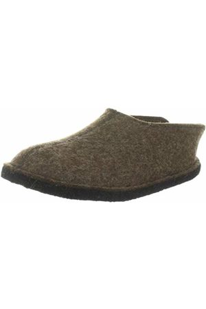 HAFLINGER Smily, Unisex - adults slippers, (Schoko 552)