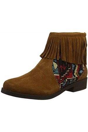 Desigual Women's Shoes Ottawa Tapestry Ankle Boots