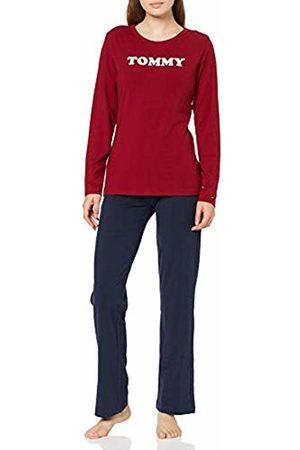 Tommy Hilfiger Women's Set Ls Pyjama Bottoms, ( 0WG)