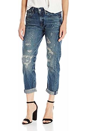 G-Star Women's Midge Low Boyfriend 7/8 W Jeans Bleu (Dk Aged Restored 71) 26W/32L