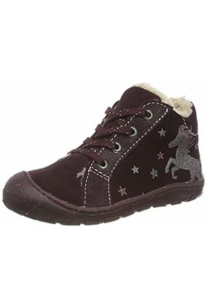 Lurchi Baby Girls' Gloria Low-Top Sneakers, (Burgundy 23)