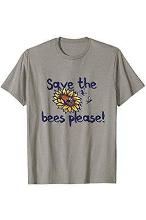 SnuggBubb Save the Bees please fun beekeepers T-Shirt