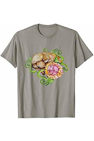 SnuggBubb Vintage Fawn Art Spring Deer T-Shirt