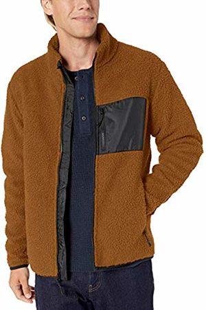 Goodthreads Sherpa Fleece Fullzip Jacket Tan