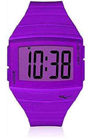 Everlast Unisex Adult Digital Quartz Watch with Plastic Strap EVER33-501-004
