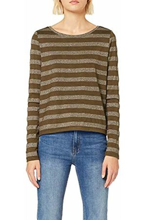 Only Women's Onlalexa L/s Boatneck Top JRS Jumper