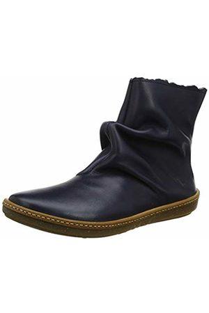 El Naturalista Women's N5311 Iris Ocean/Coral Ankle Boots