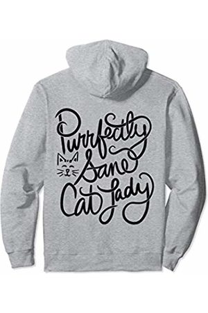 SnuggBubb Purrfectly Sane Cat Lady Pullover Hoodie