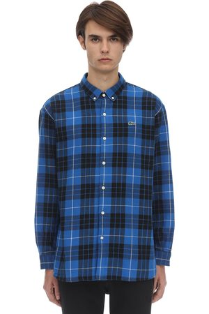 Lacoste Plaid Cotton Shirt