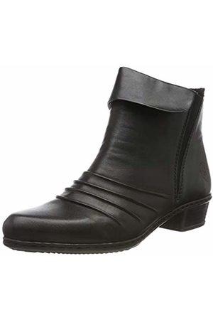 Rieker Women's Herbst/Winter Ankle Boots, Schwarz 00