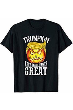 BUBL TEES Trumpkin Keep Halloween Great Trump Pumpkin Jack O Lantern T-Shirt