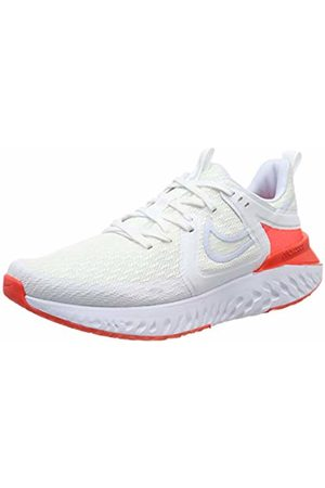 Nike Women's WMNS Legend React 2 Running Shoes, ( /Half /BRT Crimson/Pure Platinum 101)
