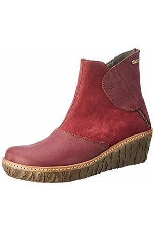 El Naturalista Women's N5132 Ankle Boots, Rioja