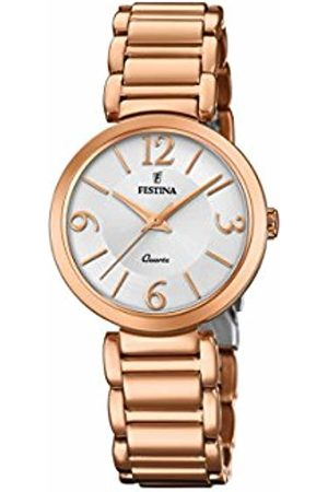 Festina Womens Analogue Classic Quartz Watch with Stainless Steel Strap F20215/1