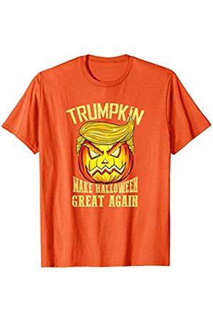 BUBL TEES Trumpkin Make Halloween Great Again Trump Jack O Lantern T-Shirt
