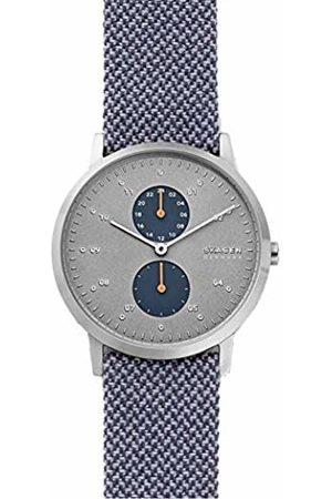 Skagen Mens Analogue Quartz Watch with Leather Strap SKW6524