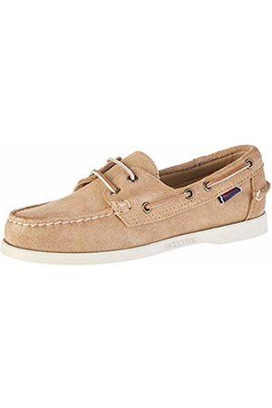 SEBAGO Men's Endeavor FGL Oiled Waxy Boat Shoes, (Dk -Gum 930)