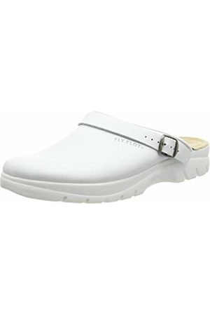 Fly Flot Men's 882135 Open Back Slippers, (weiß 03)