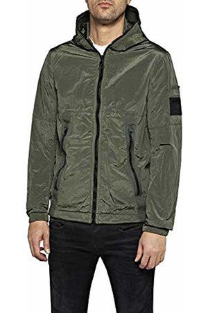 Replay Men's M8034 .000.83286 Jacket, (Sage 874)