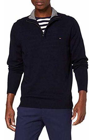 Tommy Hilfiger Men's Lambswool Zip Mock Sweatshirt