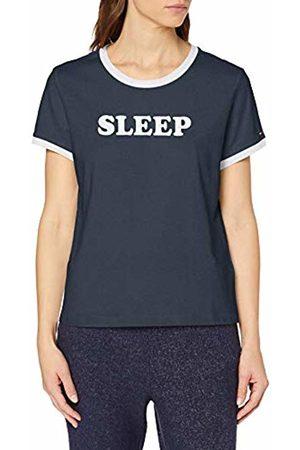 Tommy Hilfiger Women's Ss Tee Slogan Pyjama Top, ( 416)