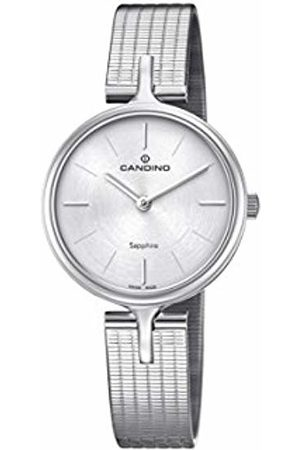 Candino Womens Analogue Classic Quartz Watch with Stainless Steel Strap C4641/1