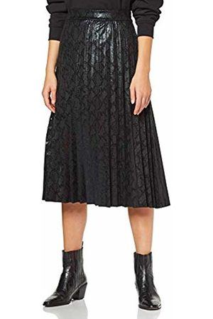 Only Women's Onlantonia Faux Suede Midi Skirt OTW