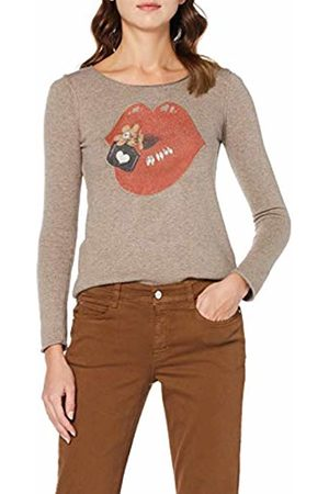 Mac Women's Dream Straight Jeans, (Bison PPT 277r)