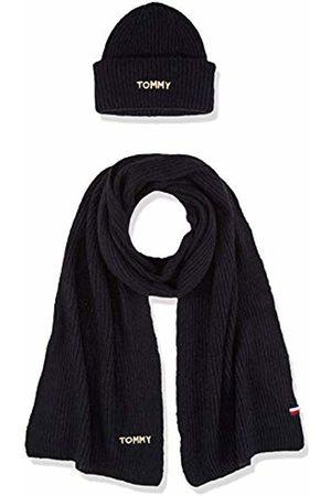 Tommy Hilfiger Women's Effortless Scarf & Beanie Gp Scarf, Hat & Glove Set
