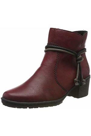 Rieker Women's Herbst/Winter Ankle Boots, (Wine 35)