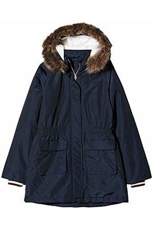 Name it Girl's Nkfmolea Parka Jacket Noos, Dark Sapphire