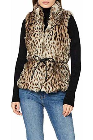 Only Women's Onlmiley Faux Fur Waistcoat OTW Outdoor Gilet