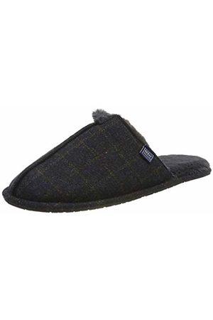 Joules Men's Furlton Open Back Slippers, ( Tweed Brwntwd)