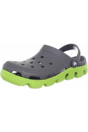 Crocs Unisex Duet Sport Clog Graphite/Volt Casual 11991-0A1-168 5 UK, 38 EU